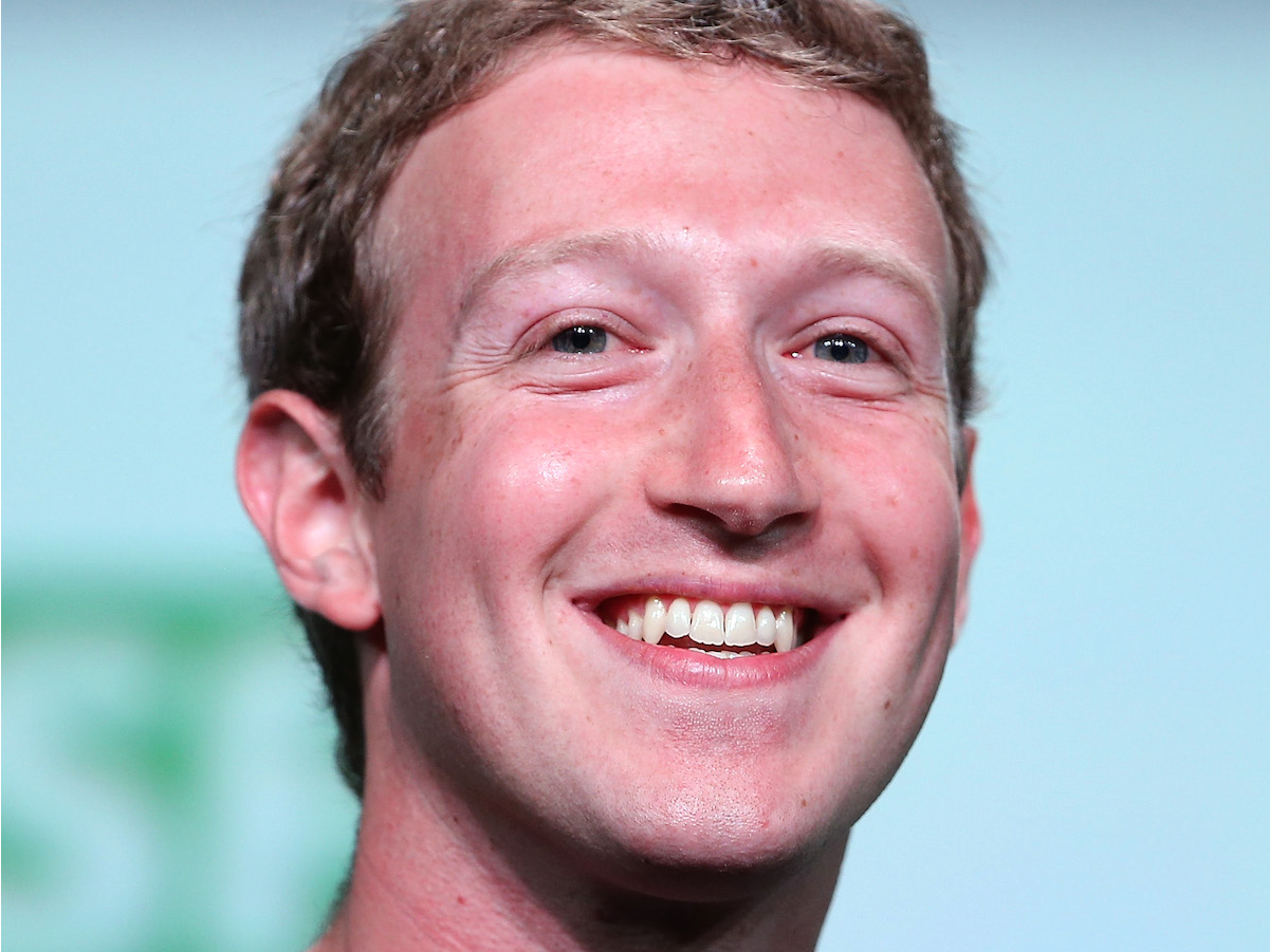 Facebook CEO Mark Zuckerberg. Justin Sullivan/Getty